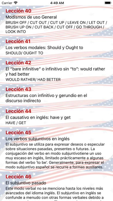 Mejor Curso de Inglés screenshot two