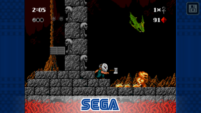 Screenshot from Kid Chameleon Classic