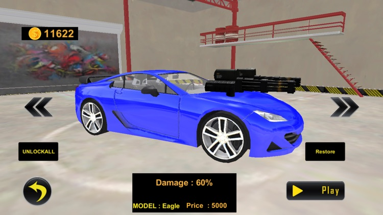 Car Shooting Game:Battle Crash screenshot-9