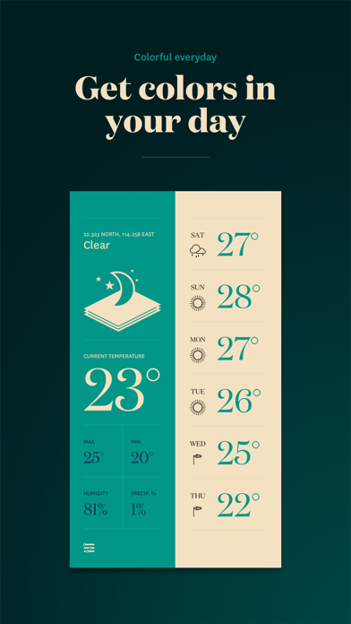 Forecast - The Weather App screenshot four