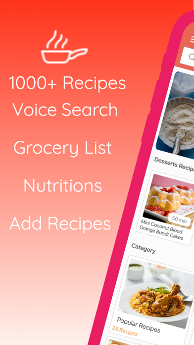 Easy Cooking - Healthy Recipes screenshot one