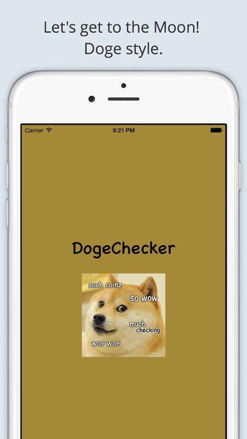 DogeChecker - Dogecoin Checker App 截图