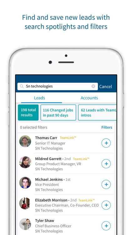 LinkedIn Sales Navigator screenshot-4