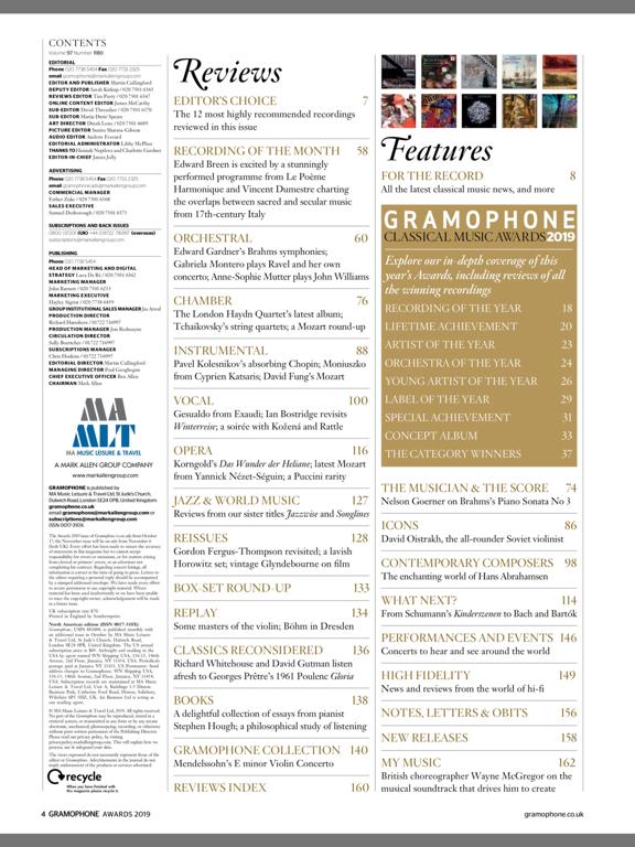 Gramophone Magazineのおすすめ画像3
