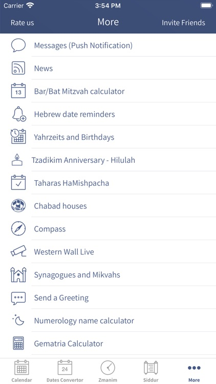 Hebrew Calendar - הלוח העברי screenshot-6