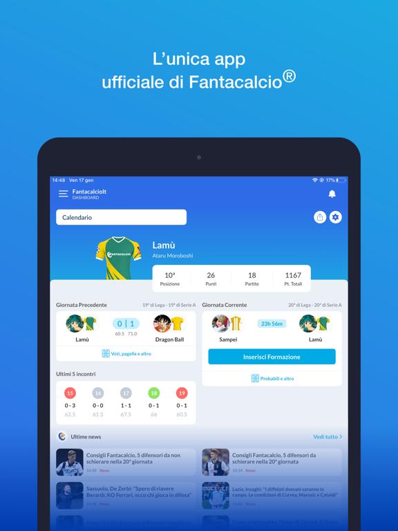Screenshot #4 pour Leghe Fantacalcio ®