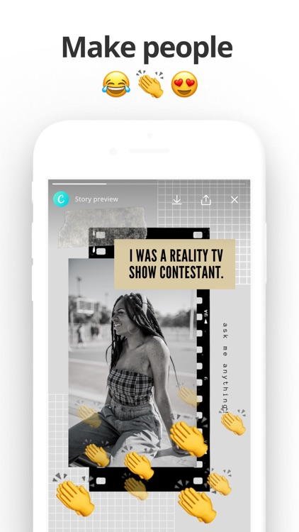 Canva: IG Story & Video Maker screenshot-4