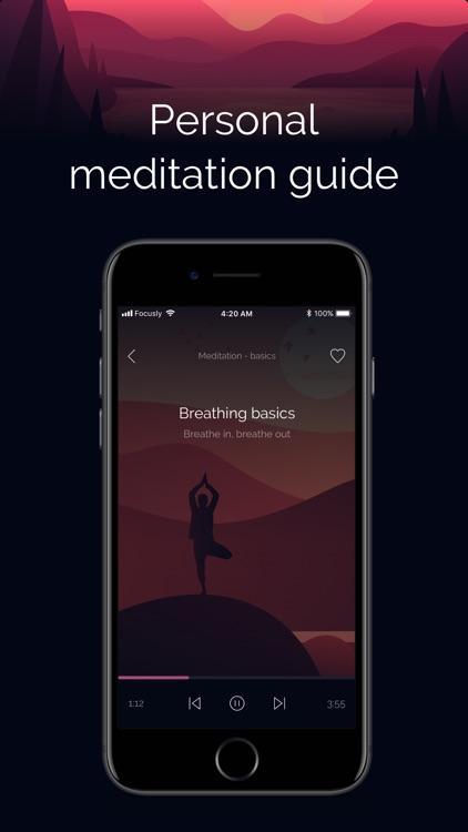 Focusly: Meditation & Relax