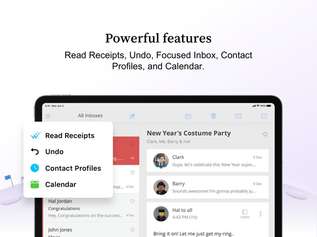 ‎Newton Mail - Email App Screenshot