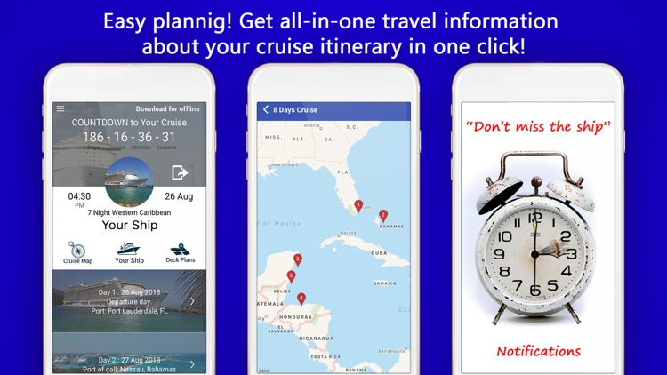 Cruise Itinerary App. CruiseBe screenshot-2