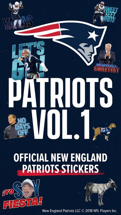 Patriots Stickers