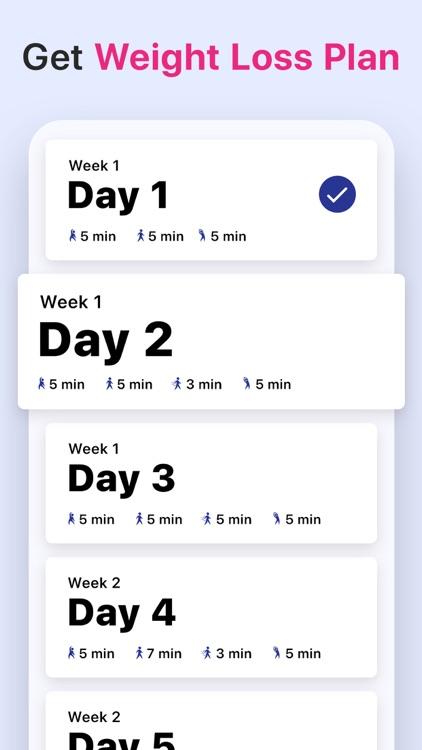 Weight Loss Walking by Verv screenshot-7