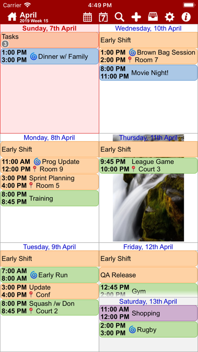 myCal PRO: Calendar & Events Screenshots