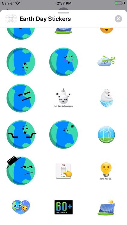 Earth Day Sticker screenshot-4