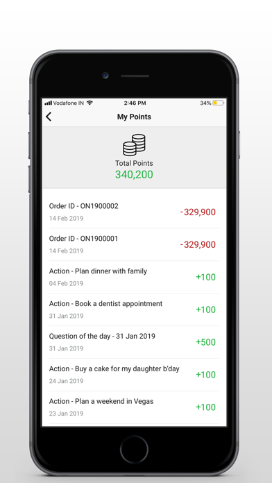 Screenshot for Intelligent Activities Manager in United States App Store