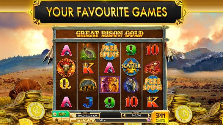 SLOTS - Black Diamond Casino screenshot-5