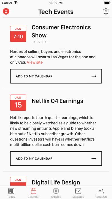 Tech Top 10 by The Information Screenshot
