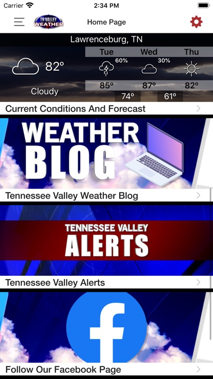 Tennessee Valley Weather screenshot-3