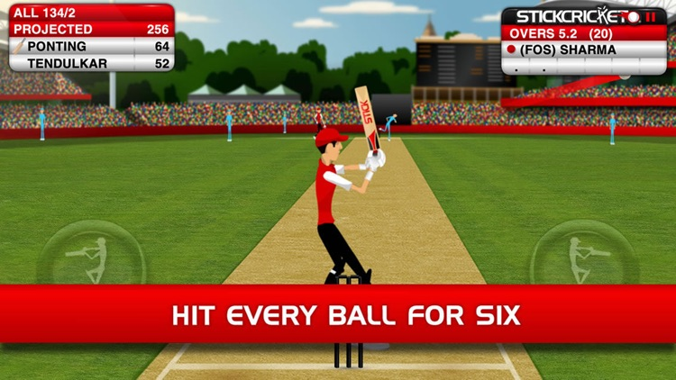 Stick Cricket Classic screenshot-0