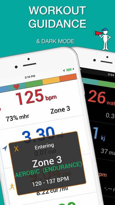 iBiker Cycling & Heart Trainer screenshot four