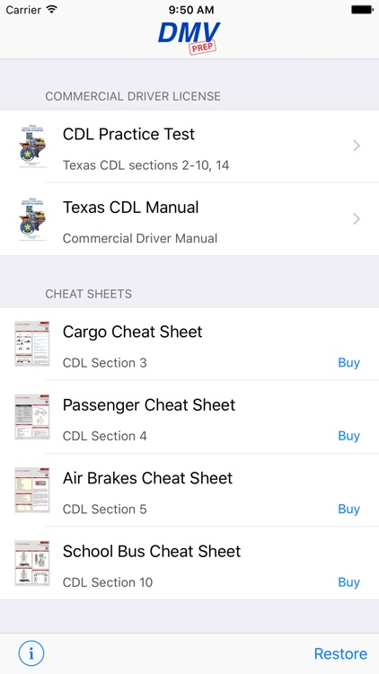 Texas CDL Test Prep screenshot-0