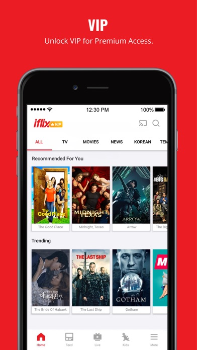 iflix: Movies, TV Series, News for PC - Free Download