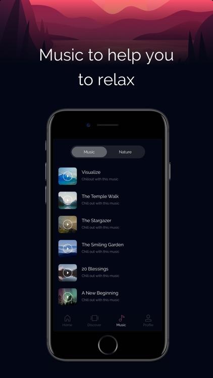 Focusly: Guided Meditation App screenshot-4