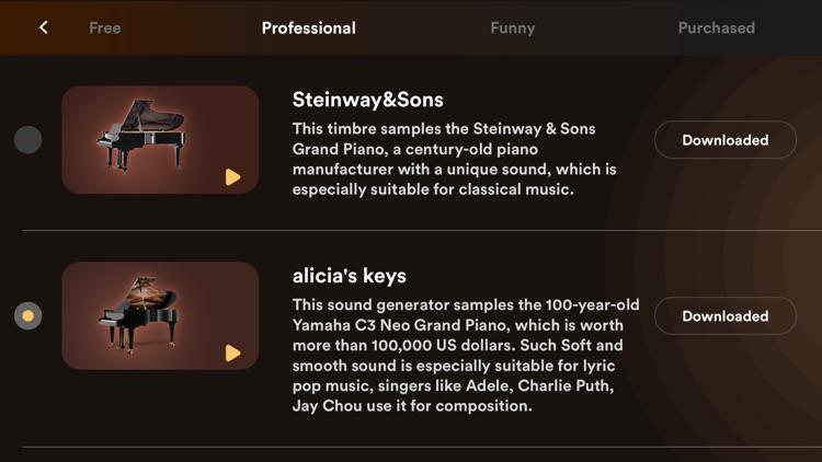 piano - piano keyboard & games screenshot-6