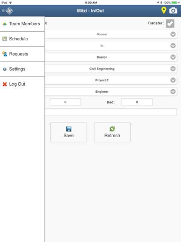 TimeTrex Mobile - náhled