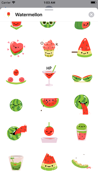 Summer Watermelon - Animated screenshot 3