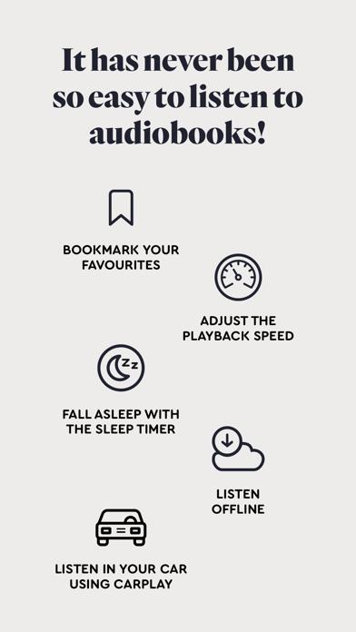 BookBeat Audiobooks & E-books screenshot two