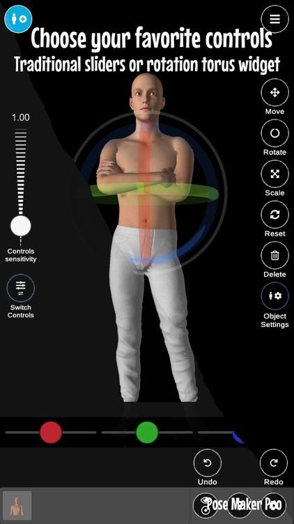 Pose Maker Pro - Art poser app screenshot-9