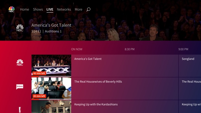 The NBC App – Stream TV Shows on the App Store