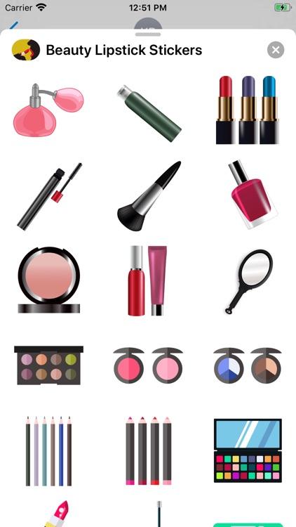 Beauty Lipstick Stickers screenshot-3