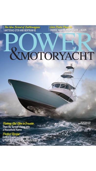 Power & Motoryacht Magazine screenshot one