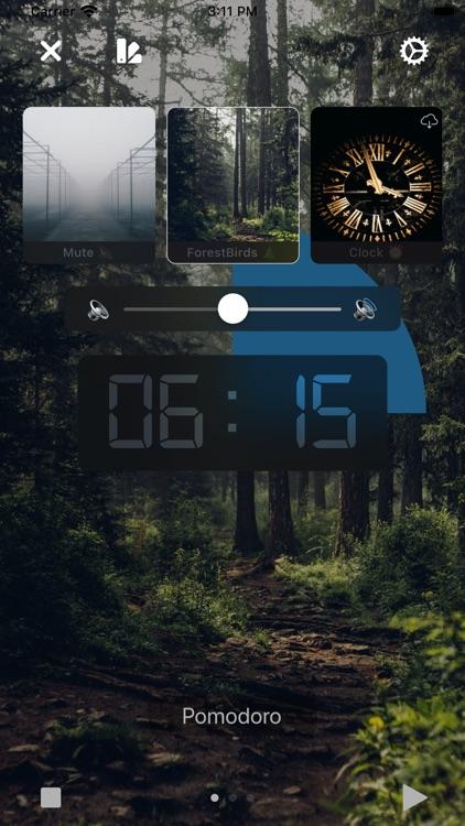 Pomodoro with White Noise screenshot-3