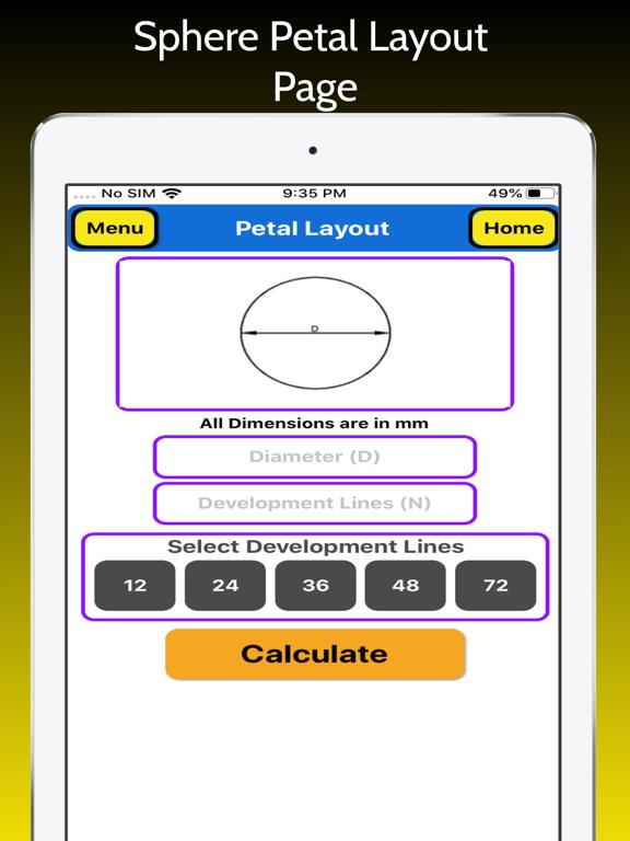 Petal Layout screenshot 10