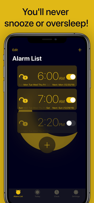 Sleep Crusher Alarm for iOS Outsmarts You to Wake Up Refreshed Image
