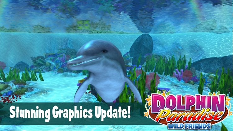 Dolphin Paradise: Wild Friends screenshot-0