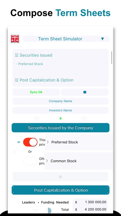 Simulfund*Term Sheet & Funding screenshot-4