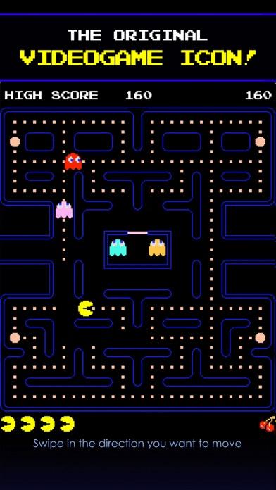 PAC-MAN Screenshot on iOS