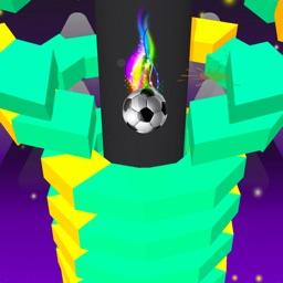 Color Stack 3D - Smash Ball