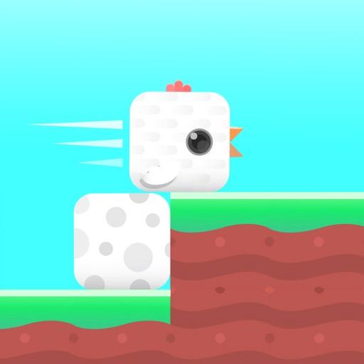 Square Bird. icon