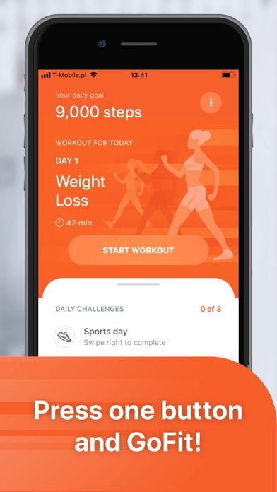 GoFit: Weight Loss Walking - 窓用