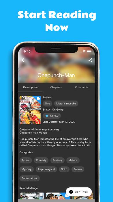 Screen Shot Manga Melon - Manga Reader App 6