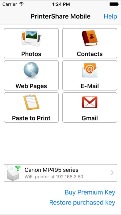 Скриншот №1 к PrinterShare