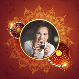 Diwali Photo Frame - DP Maker