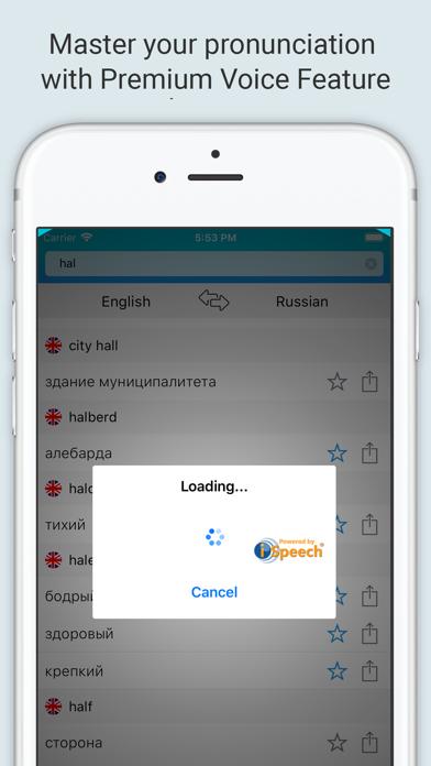 English Russian Dictionary + screenshot 4