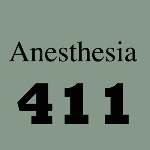 Anesthesia 411