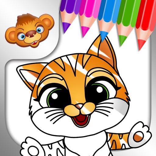 Tashi Coloring Games for Kids